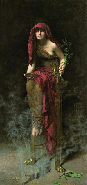 Collier, Priestess of Delphi 1891