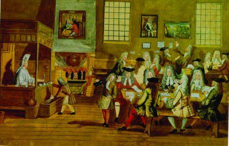A London Coffeehouse