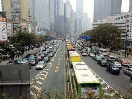 Tianhe Road, Guangzhou. By David290