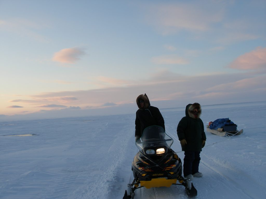 Shipping corridors through the Inuit homeland