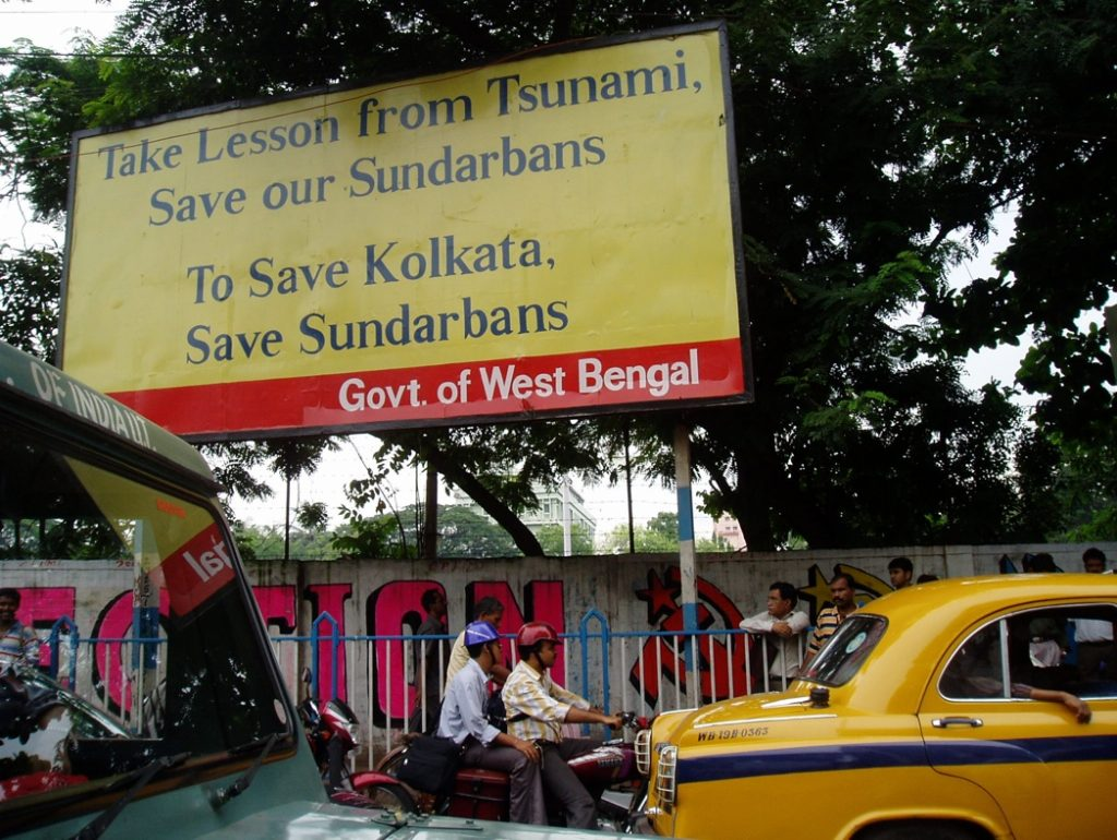 Figure 1. Billboard in Kolkata, 2005.