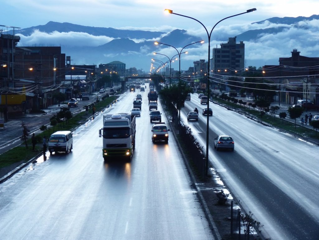 Avenida Blanco Galindo, Cochabamba.