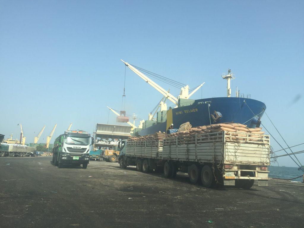 Djibouti Port.